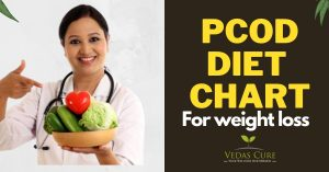 diet chart for weight loss pcod pcos